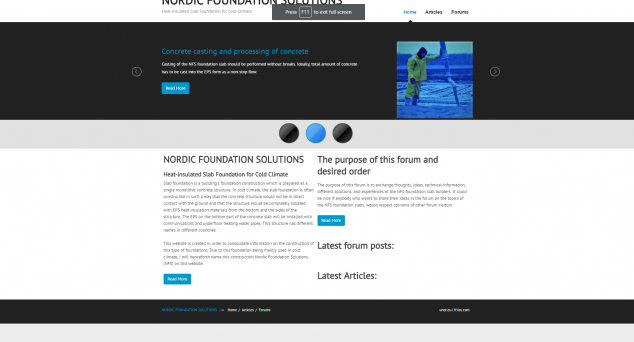 NORDIC FOUNDATION SOLUTIONS